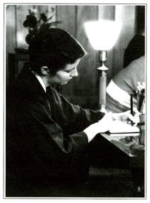 Myotai writing.