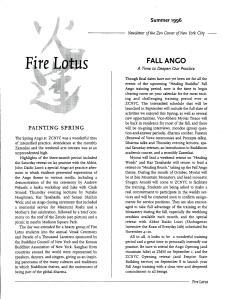 Summer 1996 News: Spring and Fall Angos.