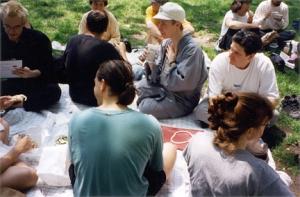 One more: Myotai at the picnic closing the Spring Ango. June, 1996