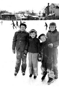(From Left:) George Dormody, Nancy Hoffmann (pony tail is hidden), Linda Dormody, Mike Doherty