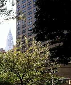 The Chrysler Building from East 47th Street