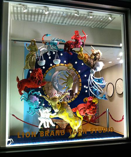 Lion Brand Yarn Studio, 34 W. 15th Street