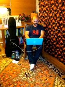 Paul Oveisi: her fiancé, my roommate