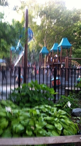 Water Wheel in Playground