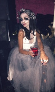 "Lana Irqsusi drinking ""blood"""