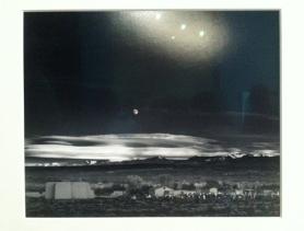 Ansel Adams: Moon over New Mexico