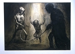 Paul Rumsey (at first I thought this was a Goya etching!!)