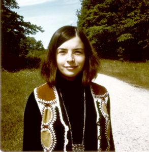 1968? Door County, WI (in our 1/4-mile driveway!)