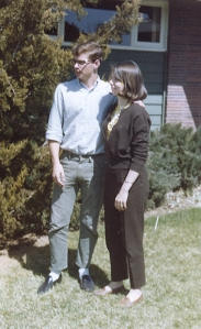Spring 1965: Art and Nancy (Denver)