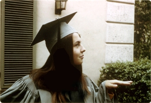 1967: Scripps graduation (Claremont, CA)
