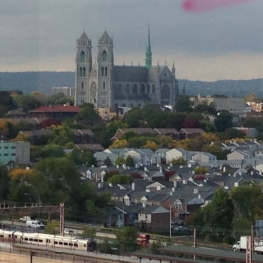 Cathedral, Newark, NJ: from 12th-floor Audio Dept.